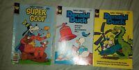 3 Walt Disney's GOOFY DELL COMICS