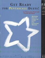 Get Ready For Pentascale Piano Teacher Student Duets Rossi McArthur Beethoven