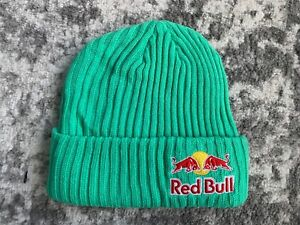 RED BULL ATHLETE ONLY BEANIE- MINT - WINTER - RARE - HAT