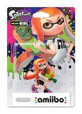 Nintendo Wii U figura amiibo splatoon inkling-chica Girl mercancía nueva
