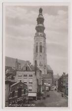 Netherlands postcard - Middlesburg, Lange Jan - RP (A29)