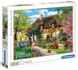 Clementoni 1000 Piece Jigsaw Puzzle - The Old Cottage