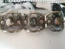 Bracciale vintage Sterling 925 e Abalone. TAXCO Mexico