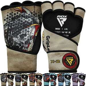 RDX Weight Lifting Gym Grips Long Straps Gripper Glove Fitness Training Workout