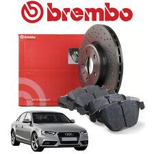 Kit Dischi e Pastiglie BREMBO Anteriori A4 (8K2, B8) A4 Allroad (8KH, B8)