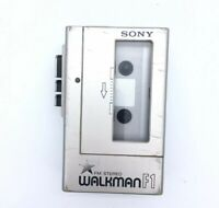 VTG Sony Walkman WM F1 Portable Stereo Cassette Player for Parts or Repair - D03