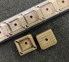 FCI PLCC-32P-T IC Socket 32 Pin PLCC Through Hole **NEW** Qty.5