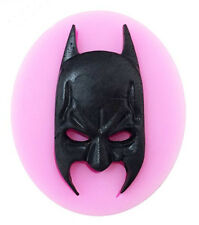 Batman Face Mask Silicone Mold for Gum Paste, Fondant, Chocolate, Crafts