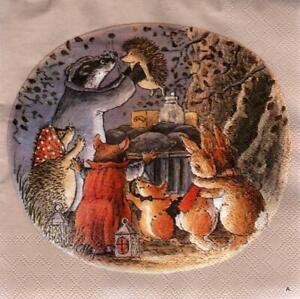 12 verschiedene Servietten * Foxwood Tales * (25)