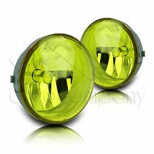 2005-2011 Toyota Tacoma Fog Lights w/Wiring Kit & High Power COB Bulbs - Yellow