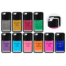 Protective Bumper Case/Cover for iPhone 5 5s SE 6 6s 7 8 PLUS / NAIL POLISH