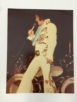 ELVIS PRESLEY IN CONCERT ON STAGE IN THE FAMOUS DRAGON SUIT VINTAGE KODAK