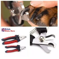 Dog Cat Pet Nail Clippers Scissors Trimmer Grooming with Nail File Large Small