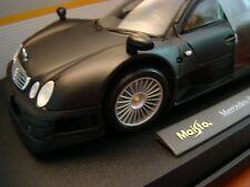 1/18 Mercedes Benz CLK GTR AMG Street Ilmor 6.9 Litre V12 Satin Matt Black 1999