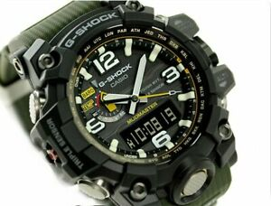 CASIO G-Shock GWG1000-1A3 MudMaster MultiBand 6 Solar Triple Sensor @