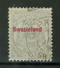 Swaziland, 1892 South African Republic Postage Stamp Overprinted Swazieland, 269