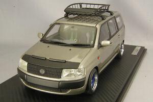 ignition model 1/18 IG1648 Toyota Probox GL NCP51V Brown Metallic Roof Rack New