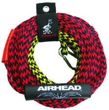 Airhead Boat Marine 2 Section Tube Tow Rope For 2 Riders 50' or 60' Length