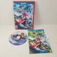 Authentic Nintendo Wii U Mario Kart 8 Game (CIB) Complete Tested & Working