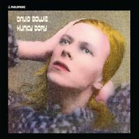"""Reproduction """"David Bowie - Hunky Dory"""", Poster, Album Cover, Size: 16"""" x 16"""""""