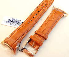 Pandora Imagine Grand C Watch Strap - Camel Leather Band, IPG-Steel Buckle Gold