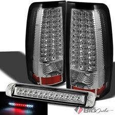 For 03-06 Silverado/Sierra LED Tail Lights Signal + 3rd Brake LED Cargo Reverse