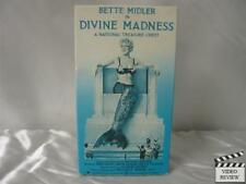 Bette Midler - Divine Madness VHS