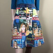 D&G Dolce Gabbana Damen Rock 26 XS 34 Cover Girl Boho Festival Style Skirt Jupe