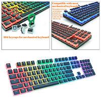 Gaming Keycaps Mechanical Keycap Set with Puller DIY Backlit