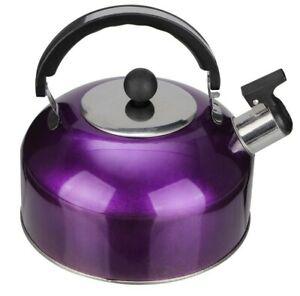 Home 3 Qt Whistling Tea Kettle Stainless Steel Whistling kitchen Tea Pot Copper