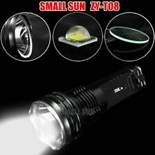 SMALL SUN ZY-T08 CREE XML T6 LED 2500LM Flashlight Torch Lamp W/ Battery Charger