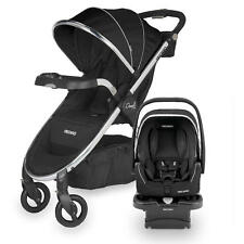 Recaro Denali Luxury Stroller + Performance Coupe Car Seat Onyx Travel System
