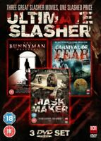 The Bunnyman Massacre / Carnaval De Fear / Masque Maker DVD Neuf (101FILMSBOX1)