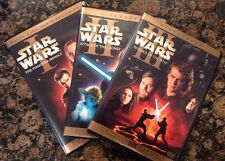 Star Wars Prequel Trilogy (DVD, 2008,6-Disc,Checkpoint;Sensormatic;WS)Authentic