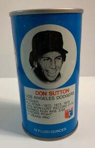 1977 RC Cola Baseball Can Don Sutton Los Angeles Dodgers LA Royal Crown Soda Pop