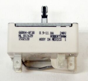 Range Burner Infinite Control Switch for WP3148953 Whirlpool  PS336886 AP3029710