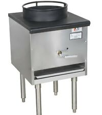 Natural Gas Wok Range Commercial Professional Restaurant Stir Fry Chinese New