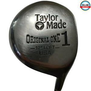 "TaylorMade Original One 1 Wood 12° degree Loft R-Flex Steel Shaft  43.5"" Nice!"
