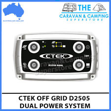 CTEK D250S Dual Dc Solar Battery Charger 12v Agm Caravan 4wd Off Grid Pack