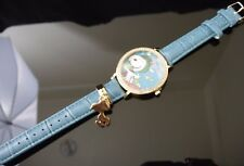 PEANUTS SNOOPY WATCH WITH CHARM - JAPAN IMPORT  NEW NWT