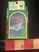 Vtg By THE NIAGARA PARKS ONTARIO Canada NIAGARA FALLS Woven Patch 99J3