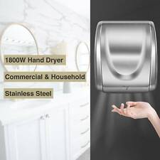 Electric High Speed 1800W Auto Hand Dryer Commercial Use and Household