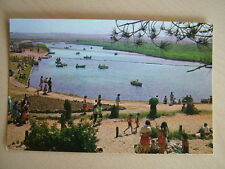 Postcard - BOATING LAKE, WELLS-NEXT-SEA. Unused.  Standard size