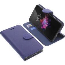 Borsa per TP-LINK neffos x1 Book-Style guscio protettivo Libro Custodia Cellulare Blu
