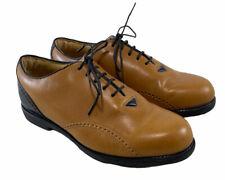 Footjoy Womens Europa Golf Shoe 6.5M 99298 Cleat Soft Spike Black Brown