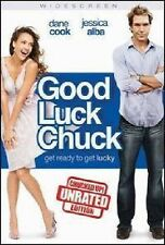 GOOD LUCK CHUCK DVD MOVIE *NEW* AUS EXPRESS DANE COOK DAN FOGLER JESSICA ALBA