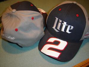 Brad Keselowski #2 LITE Racing Checkered Flag Sports Big Number Hat / Cap NEW