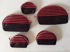Women's Lady 5 pcs Travel Makeup bag Cosmetic pouch Clutch Handbag Toiletry case