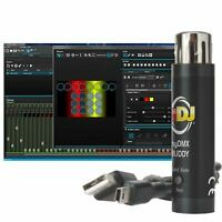 American DJ myDMX Buddy DMX Lighting Control Software + USB Dongle Used