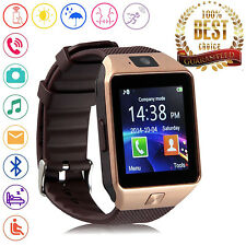 Bluetooth Smart Watch Phone Mate SIM TF Card Slot for Android LG Wiko Samsung 1+
